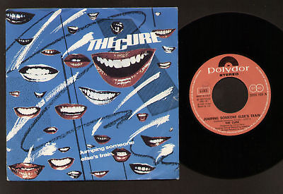 """7"""" Cure Jumping Someone Else's Train / I'm Cold Made In Italy 1979 Punk Rock"""