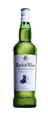 Black & White, Blended Scotch Whisky, 0,7 l.