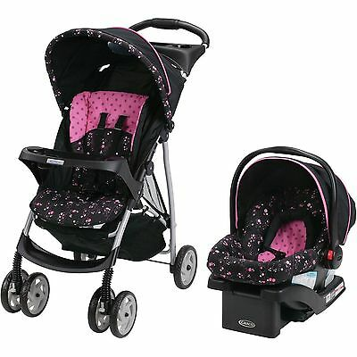 Baby Stroller and Car Seat Travel System Infant Folding Graco LiteRider NEW