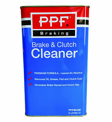Brake Clutch Fluid Part Cleaner Degreaser 5L Dust Grease 5 Litre PPF PPFBC5L