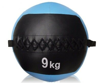 9kg Large Crossfit Wall Ball Medicine Gym Training Fitness Boxing Core Strength