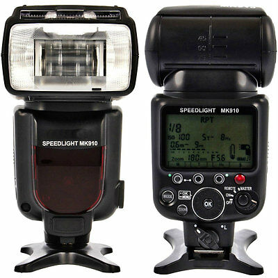UK Seller! Meike MK910 High Speed Sync 1/8000s i-TTL Flash  replacement SB910