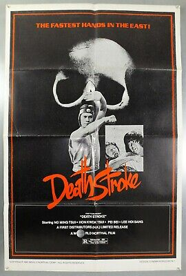 Death Stroke -Ng Ming Tsui / Hon Kwok Tsui- Original Usa One Sheet Movie Poster