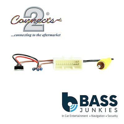 Toyota Avensis 2014 On Car Stereo Camera Retention Interface Adapter Lead