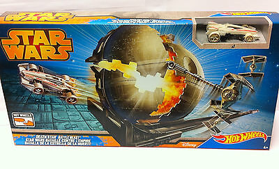 Hot Wheels Star Wars Todesstern Battle Trackset inkl. Auto NEU/OVP