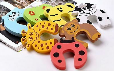 Baby Child Kids Animal Foam Door Stopper Jammer Safety Finger Protector Guard