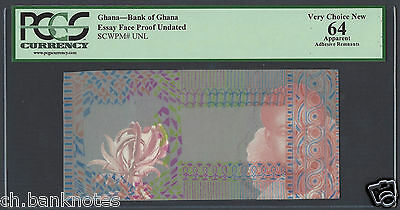 Ghana Essay Face Proof Undated Unique and Rare