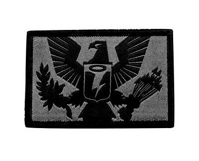 OAKLEY SI Standard Issue Tactical OAKDEF Eagle Crest Gray Morale Patch