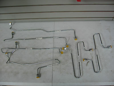 Caterpillar 3406B Fuel Tube Injection Lines #1-6 Set (PAI Brand) Ref. # 1917941