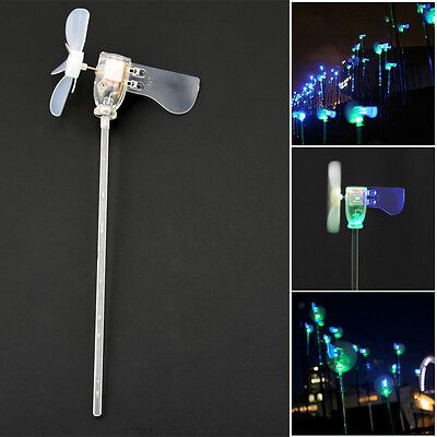 Vertical DIY Project Turbines LED Windmill Small DC Motor Wind Blades Generator