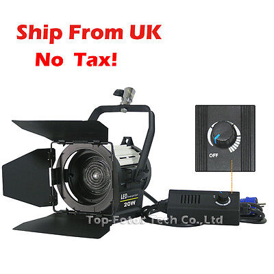 20W LED Studio Fresnel spot Continuous Light Video Camera