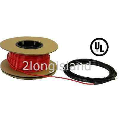 180sqft Floor Heat Electric Tile Warm Heating Cable Heated Stone, 240V UL listed
