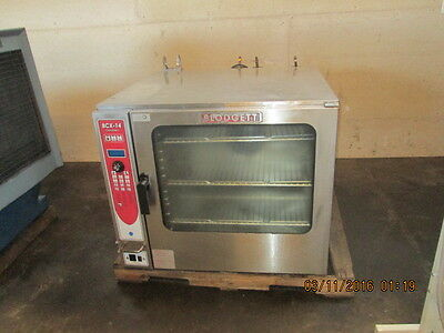 BLODGETT BCX-14 Gas Single Combi Combination Oven / Steamer CLEAN!