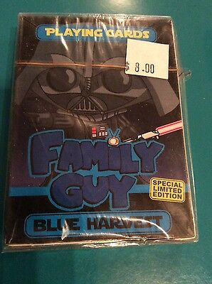 Family Guy Blue Harvest Playing Cards