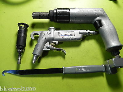 Cleco Pistol Grip Air Drill 1300 RPM aircraft aviation tool