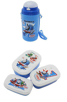 Three Thomas Lunch Cases Sold with Thomas Thermos
