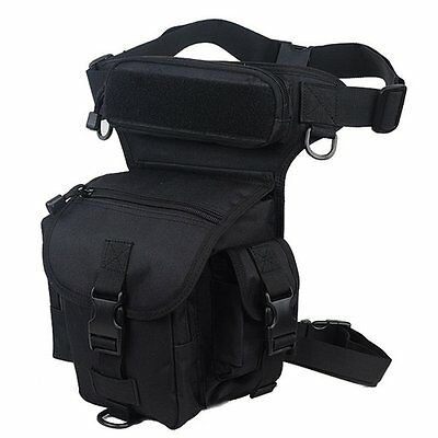 NEW Mens Hiking Outdoor Military Tactical Thigh Leg Waist Pack Bag 1000D CORDURA
