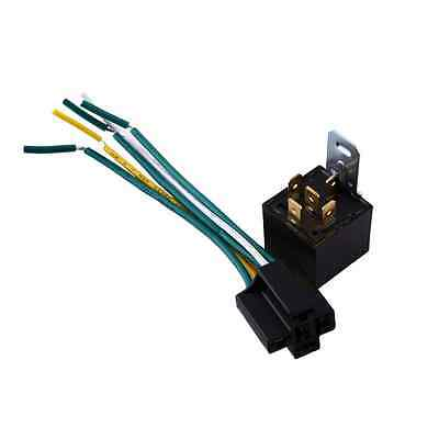 Automotive Car 12V 30/40A Amp Style 5 Pin 5 wire Relay Harness Socket