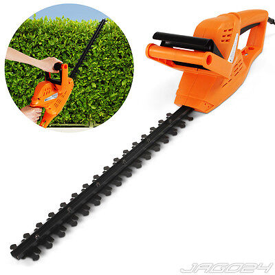 Garden Electric Hedge Trimmer Cutters 240 V Heavy Duty Bush Saw Home Outdoor
