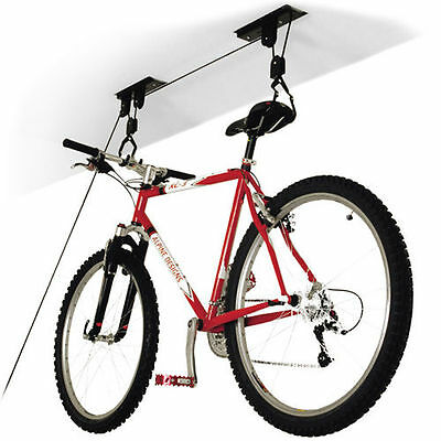 Supporto Appendi Bici Staffa Bicicletta Soffitto Garage Carrucola Gancio *l*
