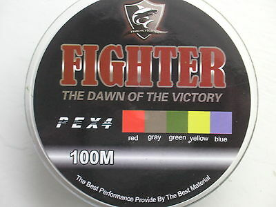 Braided fishing line x 100m 8lb test