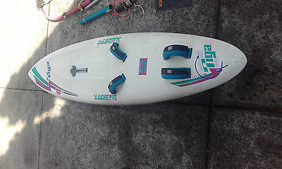 Windsurfing Kit - Everything except Mast incl. Tiga Slalom 295 sailboard