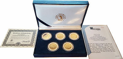 Five Statehood Quarter Dollars Special Edition in Presentation Box (C4)