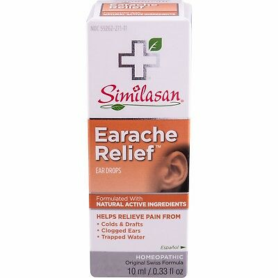 Similasan Healthy Relief Earache Relief Ear Drops, 0.33 oz