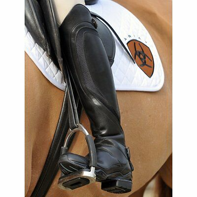 Ariat Volant Tall Rear / Back Zip Long Riding Boots Black Leather Various Sizes