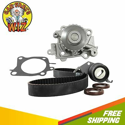 Timing Belt Kit Water Pump Fits 97-02 Mitsubishi Mirage 1.8L L4 SOHC 16v