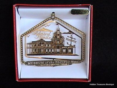 Nations Treasures Museum of the Pacific War Fredericksburg TX State Ornament