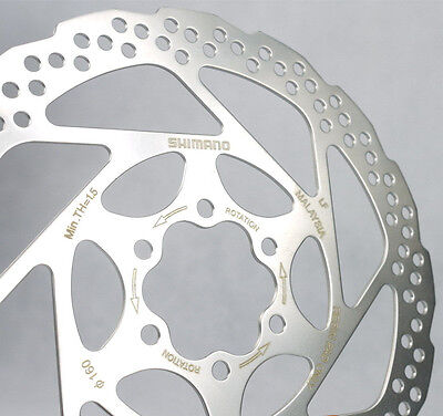 Shimano Disc Brake Rotor Sm-Rt56-S Rt 56 S For Slx Deore 160Mm 6 Bolt Style New