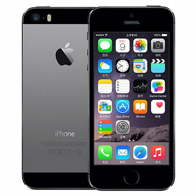 Space Gray 32GB Apple iPhone 5S Factory Unlocked Mobile Phone Smartphone