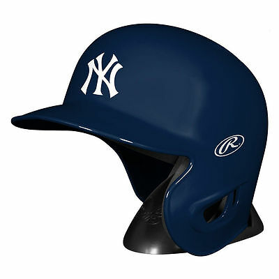New York Yankees Rawlings MLB Mini Baseball Helmet w/Stand