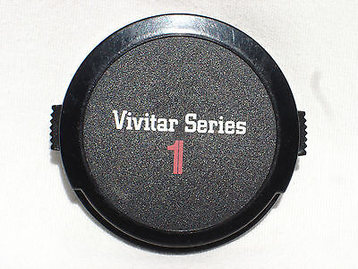 one VIVITAR SERIES 1 62mm lens cap Japan (model 3)  #00440