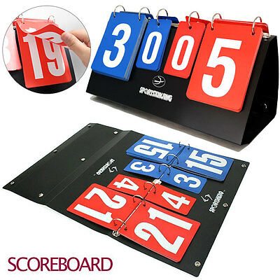 Portable Multi Scoreboard Sports Goods Volleyball Basketball Table Tennis Score