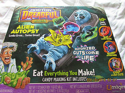 Doctor Dreadful Alien Autopsy Candy Making Machine.used