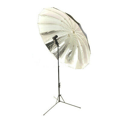 "60"" 152cm Single Studio Photography Sun Umbrella Reflective Silver"