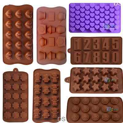 Chcolate Silicone Mold DIY Cake Pastry Jelly Candy Cookie Baking Tray Soap Mold