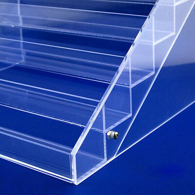 6 Tier Clear Acrylic Display Stand Rack Organizer Cosmetic case Storage
