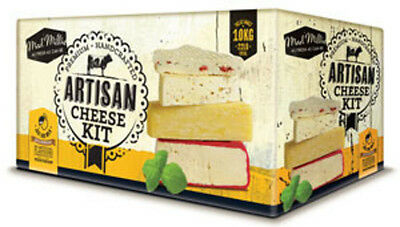 Mad Millie Fresh ARTISAN Cheese Making Kit - birthday gift present how to make
