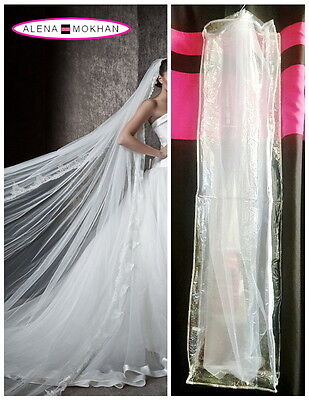 Bridal Veil Bag Bachelorette Veil Bag Clear With Clip - Headpiece Bag