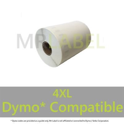 Dymo Compatible Thermal Roll Labels - 4XL Large - Royal Mail 104x158mm Shipping
