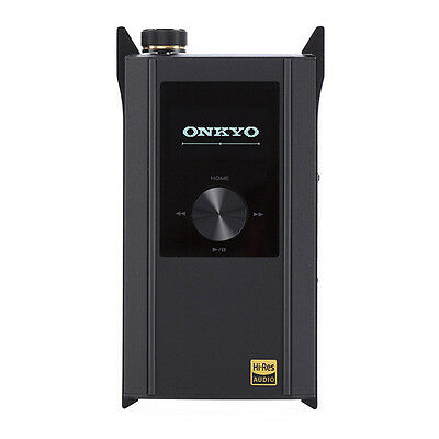 New ! ONKYO DAC-HA300-B Headphone amplifier SD player equipped Japan F/S