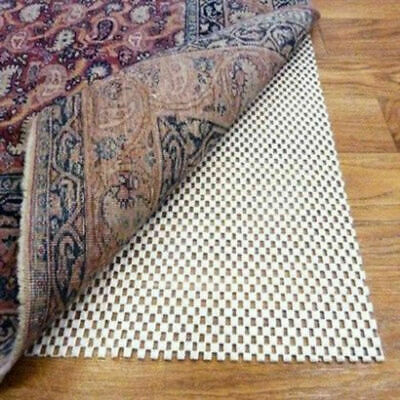 110 X 160Cm Anti Slip Rug Mat Gripper Grip Ideals For Hard Floor New