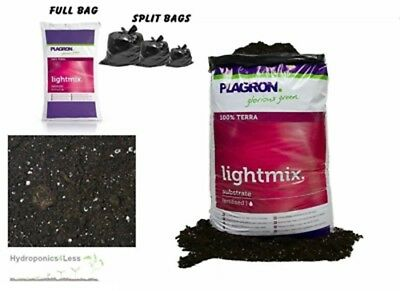 PLAGRON Light Mix 10,25 or 50L Dutch Organic Terra Soil Compost Hydroponics Grow