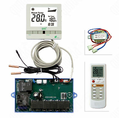 Programmable Ac Control System W/remote & Sensors