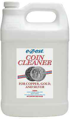COIN CLEANER - E-Z-EST - For COPPER, GOLD, & SILVER - Gallon