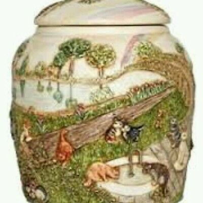 Harmony Ball Jardinia-Rainbow Bridge  pet urn - cat-NIB