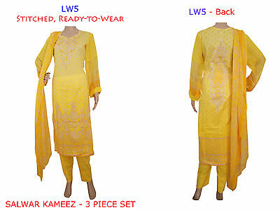 LW5 Ready Made Stitched Salwar Kameez Dress Pakistani Indian Asian Bollywood